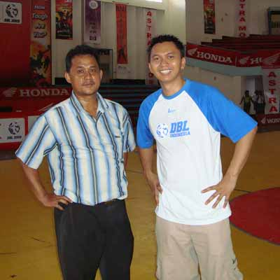 Azrul Ananda and Me (Main basket bersama)