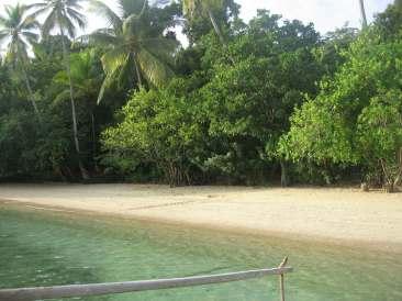 Pantai Amai yang asri